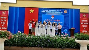 Đoàn Trường Trung cấp nghề Cơ khí 1 Hà Nội chào mừng 88 năm ngày sinh nhật Đoàn thanh niên cộng sản Hồ Chí Minh (26/3/1931 - 26/3/2019)